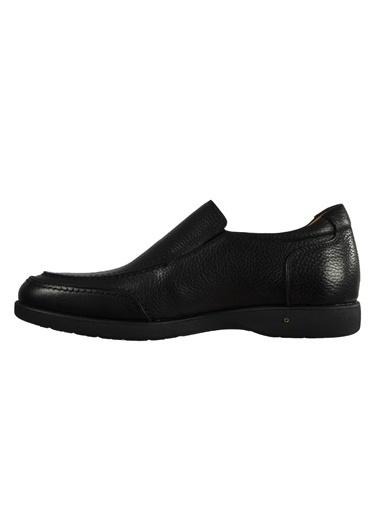 Dr.Flexer 027010 Siyah Erkek Günlük Hakiki Deri Ayakkabı Siyah